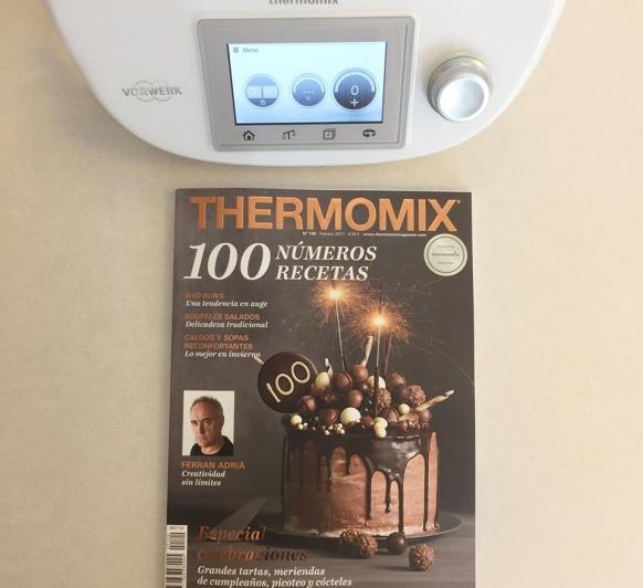 ¡100 NÚMEROS, 100 RECETAS! ? ¡Llega la Revista Thermomix® con más páginas y más recetas de la historia! ¿Estáis preparados?